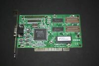 USED TRIDENT TGI 9440 1MB  PCI VGA VINTAGE GAMING VIDEO CARD WORKING H16