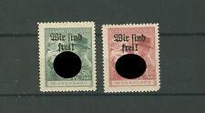 Böhmen & Mähren Mährisch-Ostrau 28-29 postfrisch/ungebraucht (B01412)