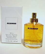 JIL SANDER NO 4 WOMEN PERFUME EDP LARGE 3.4 FL OZ SPRAY 100 ML TST