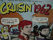 CRUISIN 1962 History of  Rock 'n' Roll Radio W/ DJ INTRODUCING ARTISTS Sealed LP