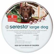 Foresto / Seresto collar for large Dog over 8kg (18lbs) 70cm. Made in Germany