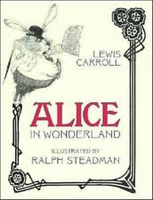 ALICE IN WONDERLAND Lewis Carroll RALPH STEADMAN ILLUSTRATIONS ~ CLEAN SC COPY!
