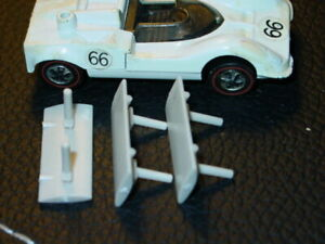 Hot Wheels Redline CHAPARRAL 2G REPRO WING REPRODUCTION -Off White 3x DEAL