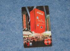 1995 Coca Cola Machine Sprint $3. Phone Card Serial #02500 Collect-A-Card E1574