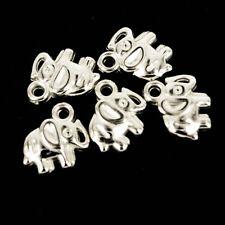 Acrilico/plastica Elefante ~ Ciondoli/perline/charms gioielli x 20 np39