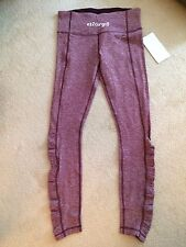 Lululemon Turn Around Tight Heathered Bordeaux Drama 8 or 10