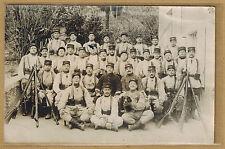 Cpa Carte Photo camp de Nyons Militaires 17e Régiment d'Infanterie d'Epinal m304
