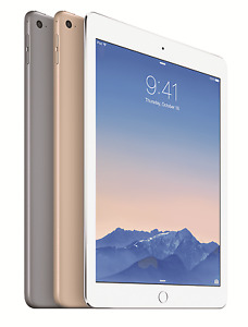 Apple iPad Air - 9.7 Inch Tablet - Wi-Fi - 16gb / 32GB / 128GB - GRADEs
