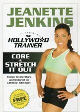 CORE AND STRETCH IT OUT WORKOUT JEANETTE JENKINS DVD ABDOMINAL STRETCHING NEW