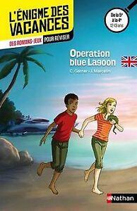 Operation Blue Lagoon de Marcelin, Jacques, Garner, Charlotte | Livre | état bon