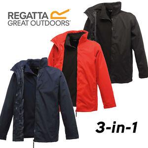 Regatta 3 in 1 Classic Jacket & Fleece Mens Waterproof Windproof Hydrafort 5000
