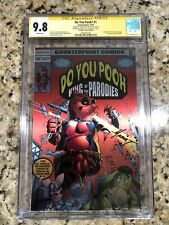 Do You Pooh GODZILLA #1 Herb Trimpe Homage METAL EDITION Variant CGC 9.8 Limit 5
