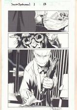 Dark Reign: Sinister Spider-Man #1 p.17 - General Wolfram art by Chris Bachalo