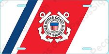 United States Coast Guard Aluminum License Plate - Made in USA - UV Protected