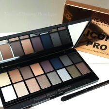 MAKEUP REVOLUTION Iconic Pro 2 EYESHADOW PALETTE Browns, Nudes & Brush 16 Colour