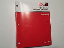 CASE 1640 Combine Parts Catalog Prior to P.I.N. JJC0034705, RAC 8-3153