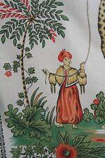 "Pierre-Frey ""ISMAILIA"" Patifet Fabric 10 yards (or +)of Mogul Flowers & Giraffes"