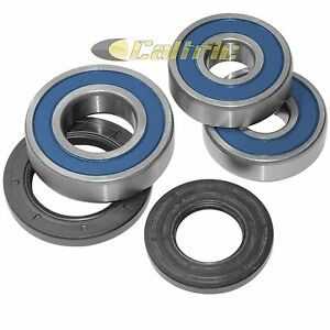 Rear Wheel Ball Bearings Seals Kit for Kawasaki KZ1000 KZ 1000 1977-1983