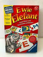 E wie Elefant von Ravensburger Legespiel Lern Brett Gesellschafts Familien