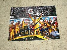 JOEY LOGANO SIGNED 8X10 PHOTO coa NASCAR RACER