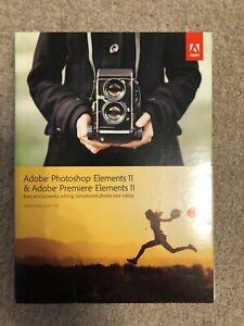 Photoshop Elements 11 and Premiere Elements 11
