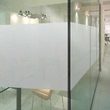 90cm*5m Sandblast Clear Privacy Frosted Frosting Windows Glass Film Removable AU