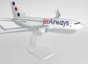 Boeing 737-800 JAT Airways Serbia Snap Fit Collectors Model Scale 1:200 g
