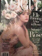 ELLE FANNING - Vogue Magazine - June 2017 - BRAND NEW - NO LABEL