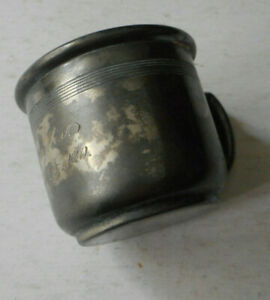 Vintage WM Rogers & Son Silver Plated Baby Cup 1920 Engraved