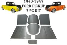 1940 1941 1946 1947 Ford Pickup Truck Front Floor Pans,Toe Boards & trans Covers