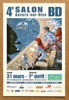 Carte Postale BD VALÉRIAN et Van GOGH / JC Mézières / 2007