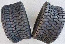 2 - 18X9.50-8 4 Ply Deestone Turf Saver Lawn Mower Tires PAIR DS7040 18x9.5-8