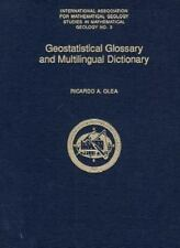 Geostatistical Glossary and Multilingual Dictionary (International Association f