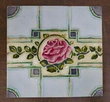 English Antique Rose Tile England