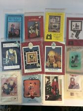 Primitive Country 82 Craft Sew Patterns Santa Americana Dolls Bunnies More Uncut