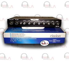 CLARION EQS746 7 BAND CAR AUDIO GRAPHIC EQUALIZER SYSTEM W 6 CHANNEL RCA OUTPUT