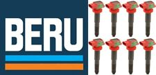 BERU Set of 8 Ignition Coils  PORSCHE CAYENNE 08-16 V8+PANAMERA 10-16 V8