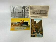 Stack of 5 Railroad Postcards - Southwest Missouri Electric Railway Joplin MO