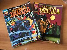 2 volumi LA TOMBA DI DRACULA SPECIALE ottimi STAR COMICS MARVEL