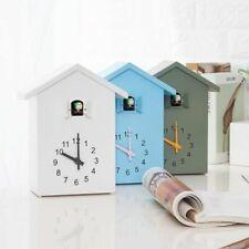 Quartz Cuckoo Wall Clock Modern Bird House Decoration Alarm Clocks Hanging