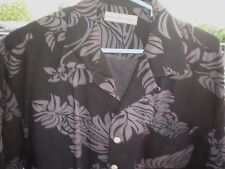 Men's Size Large Hawaiian Style  Button Down Shirt by Eagle Dry Goods Co.
