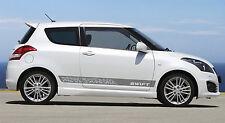 Suzuki Swift GT Stripe set of 2  Exclusive Paisley Design NEW