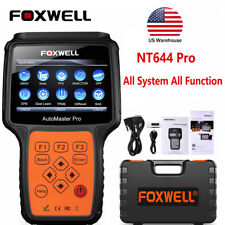 FOXWELL NT644 Pro All Systems Scanner TPMS BMS DPF TBA BRT OBDII Diagnostic Tool