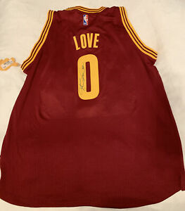 Kevin Love Autographed Cleveland Cavaliers Away Swingman Jersey - XL +2