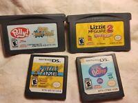 Gameboy & Nintendo DS Game Lot 4