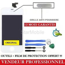 VITRE TACTILE IPHONE 4S BLANC ECRAN LCD + CHASSIS ASSEMBLER + OUTILS + FILM