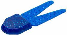 Zoom Bait Big Salty Chunk Soft Plastic Baits-Pack of 5 (Sapphire Blue, 3.5-Inch)