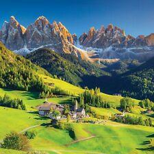 ALPENTAL Vliestapete Fototapete Tapete Berge AUSBLICK Landschaft Foto ALPEN Berg