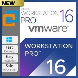 ⚡VMware WorkStation 16 Pro ⚡Genuine Serial🔑Key ⚡Stikr
