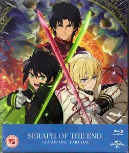 Seraph of the End Season One Part One - Japanese Anime - NEW Collectors Blu-Ray